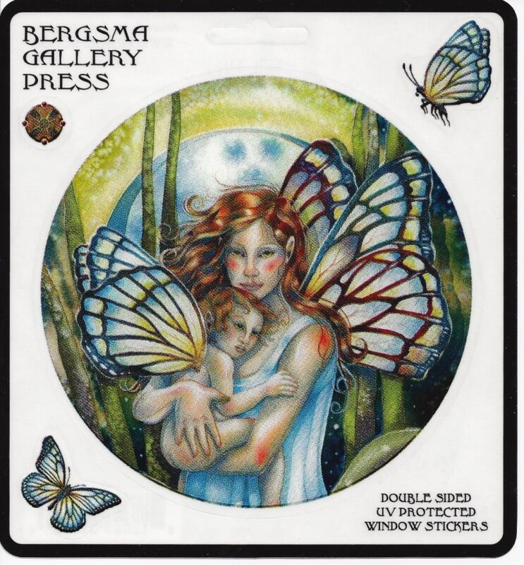 LOVE YOU FOREVER Butterfly Fairy & Baby Stickers Car Decals Jody Bergsma sticker
