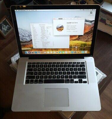 """Apple MacBook Pro 15"""" A1286 Mid 2010 Core i5 4GB RAM 120GB SSD"""