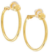 Clip Hoop Earrings