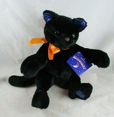 "12"" Midnight Plush Black Cat Hallmark with Tags"