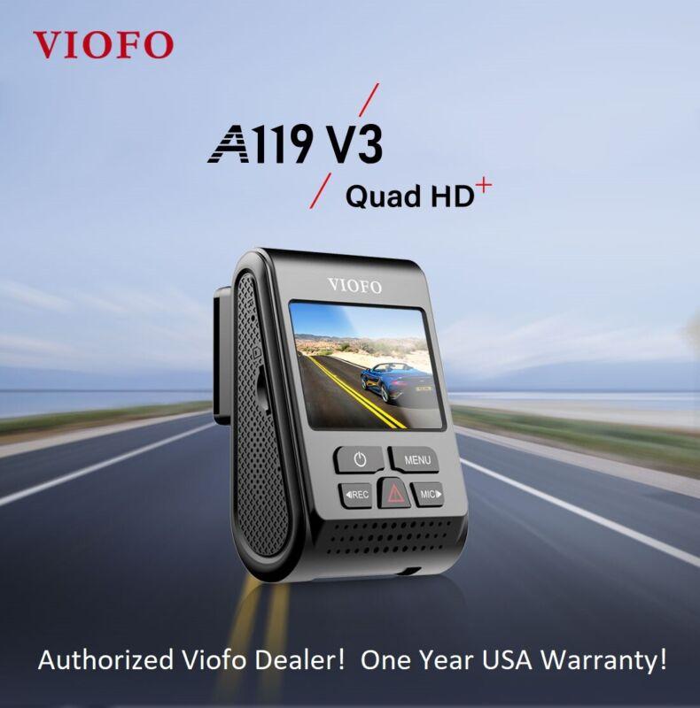 Viofo A119V3 Dash Camera with Sony Starvis IMX335 Image Sensor - USA Seller