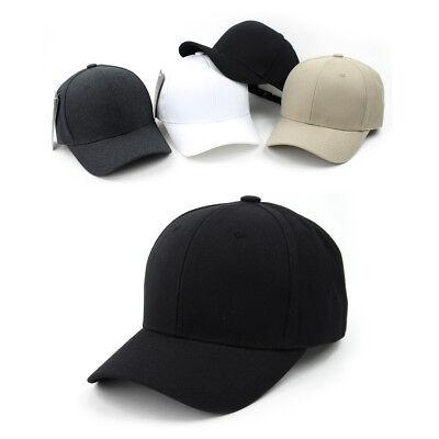 Unisex Mens Womens Teamlife Plain Blank Baseball Cap Adjustable Trucker Hats Blank Trucker Hats