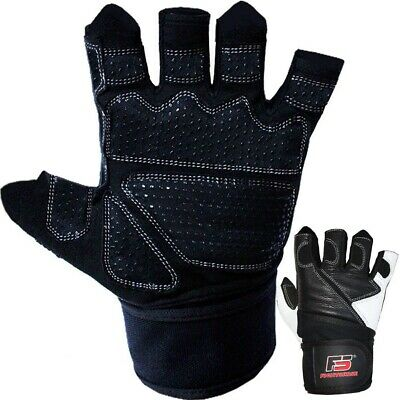 FIGHTSENSE Weight Lifting Gloves with 18