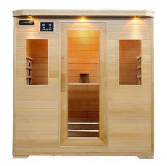 Byron 4 person sauna WAS $2,999 CLEARANCE SALE NOW ONLY $1,999