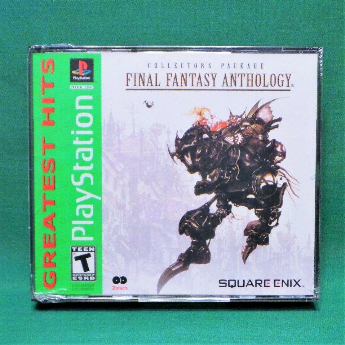 Final Fantasy Anthology, FF 5 & 6  *NEW SEALED* V, VI