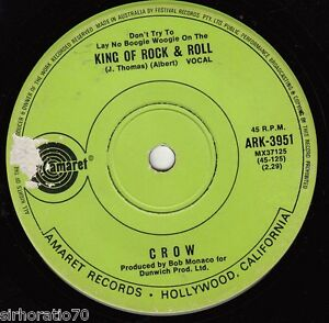 CROW-King-Of-Rock-Roll-Satisfied-45