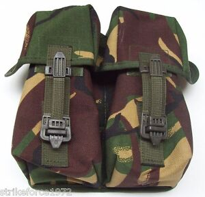 Army-Issue-PLCE-DPM-Camo-Double-Ammunition-Pouch-NEW