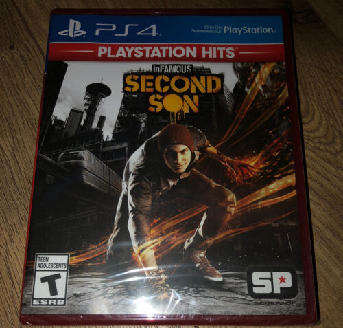 InFAMOUS Second Son - Sony Playstation 4 NTSC PS4 Region Free Classic NEW - $14.88