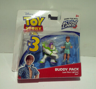 Ken Toy Story 3 (NEW! Disney Toy Story 3 Buddy Pack Laser Buzz And)