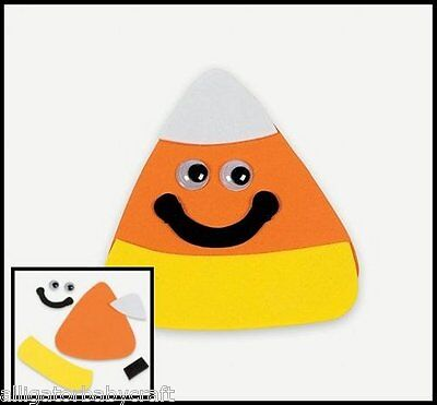 Candy Corn Magnet Halloween Craft Kit for Kids Fall Autumn Boys Girls ABCraft](Halloween Crafts For Girls)