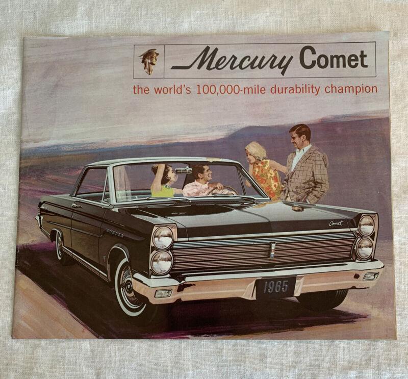 1965 Mercury Comet Caliente 404 202 Station Wagons Vintage (NOS) Sales Brochure