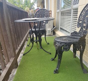 Outdoor dining table 2 seats