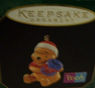 ⭐ON SALE!⭐ Hallmark Keepsake Ornament Mini HONEY OF A GIFT Winnie the Pooh
