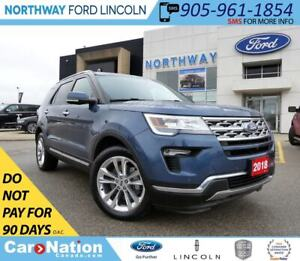 2018 Ford Explorer Limited | PWR LIFTGATE | NAV | PANO ROOF |