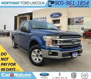 2018 Ford F-150 XLT 300A | 5.0L V8 | SUPERCAB | TOW PACK |