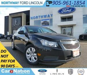2012 Chevrolet Cruze LT Turbo | KEYLESS ENTRY | CRUISE CONTROL