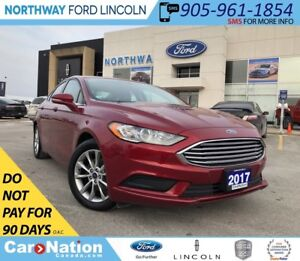 2017 Ford Fusion SE | WINTER PACK | REAR CAMERA