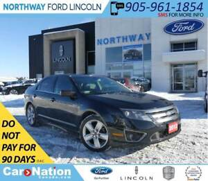 2012 Ford Fusion SPORT | AWD | HTD LEATHER | MOONROOF |