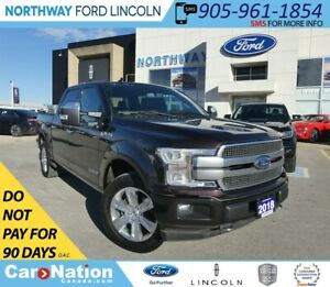 2018 Ford F-150 Platinum | DIESEL | TECH PACKAGE | PANOROOF