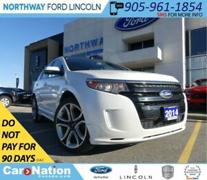 2014 Ford Edge Sport | NAV | LEATHER | REMOTE START | PANO ROOF