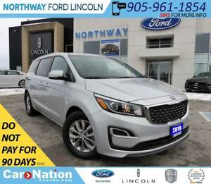 2019 Kia Sedona LX | HTD SEATS & WHEEL | 3 ROWS | BACKUP CAM