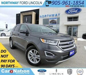 2017 Ford Edge SEL | HTD SEATS | BACKUP CAM | PUSH TO START |