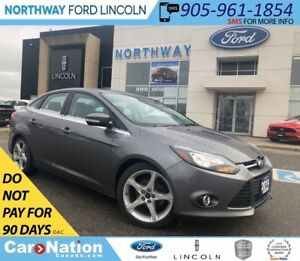 2014 Ford Focus TITANIUM | HTD LEATHER | NAV | SUNROOF