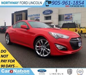 2016 Hyundai Genesis Coupe R-Spec | 3.8L | 6-SPEED MANUAL | 348H
