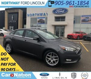 2015 Ford Focus SE | SYNC | ALLOY WHEELS | SE PLUS PACK 201A