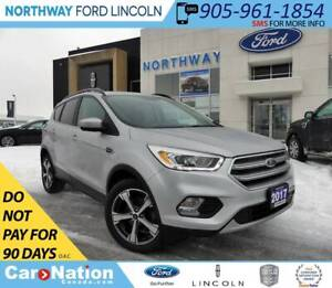 2017 Ford Escape SE | NAV | PANOROOF | HTD LEATHER |
