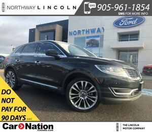 2017 Lincoln MKX Reserve | 335 HP 2.7L | NAV | PANOROOF