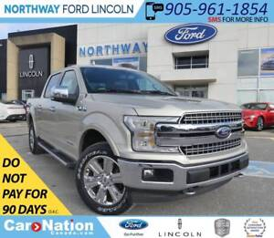 2018 Ford F-150 Lariat   DIESEL   NAV   HTD LEATHER   502A