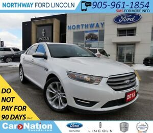 2013 Ford Taurus SEL   NAV   HTD LEATHER   PUSH TO START  