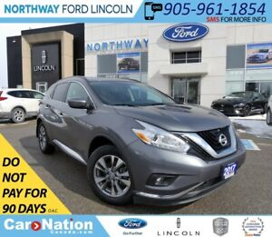 2017 Nissan Murano SV | AWD | BACK UP CAM | PANO ROOF |