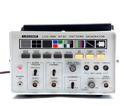 Leader Lcg 396 Ntsc Pattern Generator