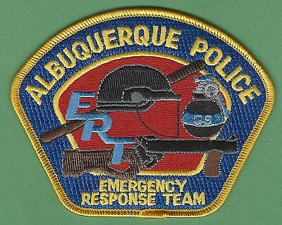 ALBUQUERQUE NEW MEXICO POLICE ERT EMERGENCY RESPONSE TEAM PATCH