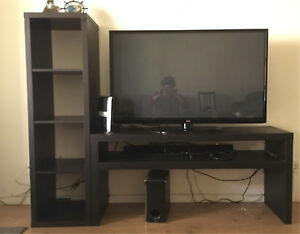 TV. With desk.  300$