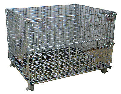 40 X 48 X 30 Material Handling Industrial Parts Baskets New