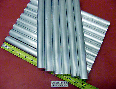 20 Pieces 78 Aluminum 6061 Round Rod 12 Long Solid T6511 Lathe Bar Stock