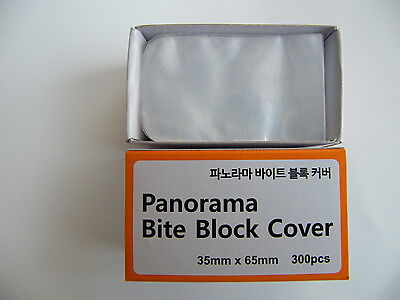 Dental - Panorama Bite Block cover sleeves 300pcs(35mm x 60mm)(1.37in x 2.36in)