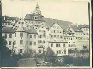 Deutschland-Tubingen-1905-Vintage-silver-print-Tirage-argentique-d-039-ep