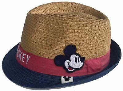 Mickey Maus Disney Sommerhut Strohhut Havanna Hut Sonnenschutz Schule Gr.50 rot online kaufen