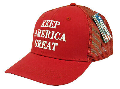 TRUMP 'Keep America Great' Trucker Adjustable Hat - Assorted Colors Greats Adjustable Hat