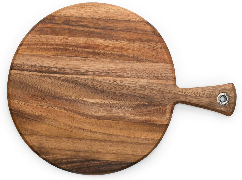 Ironwood Gourmet Round Provencale Paddle Round, Acacia Wood - $45.00