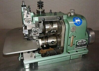 Merrow Mg-4d-67. Mechanical 2 Needle Commercial Industrial Sewing Machine.