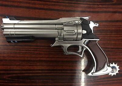 Overwatch Jesse Mccree Foam Gun Weapon Replica1:1 Scale Cosplay Prop Handgun