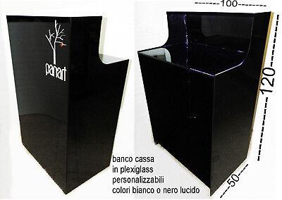 Cm 100 P50 X H120 borra Negro Lúcido X