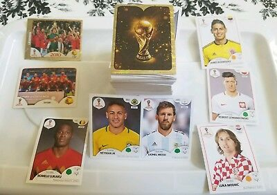 PANINI FIFA 2018 World Cup Russia. Updated 01/05. Pick 10 Stickers from my list