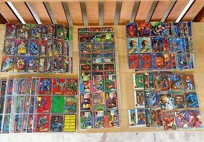 1992-96 Marvel Comic Trading Cards Skybox Flair Fleer 680+