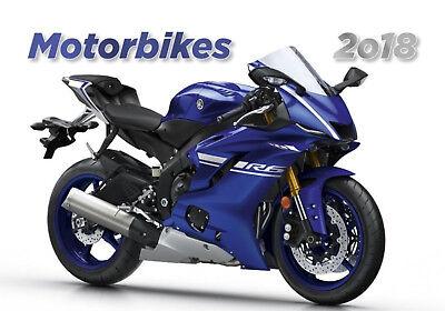 Motorbikes Kalender 2018 Motorräder Motorrad Posterkalender Bike